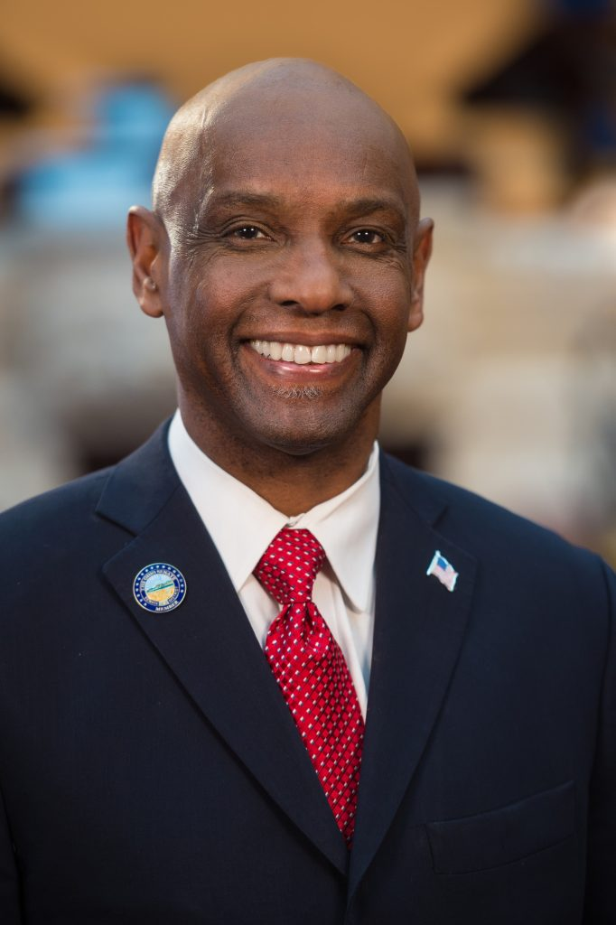 Cecil Thomas running for Mayor