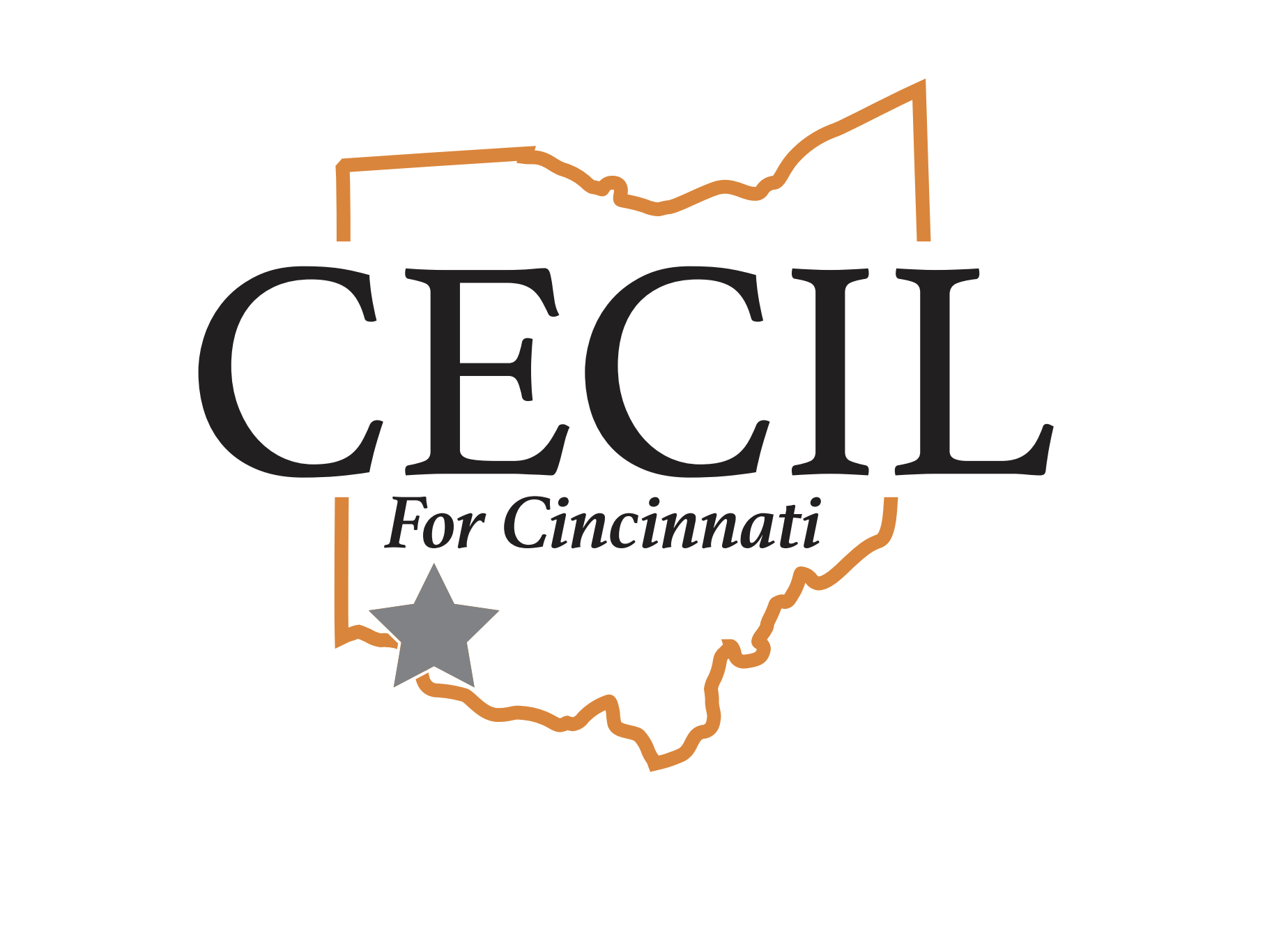 logo for Cecil Thomas running for Mayor